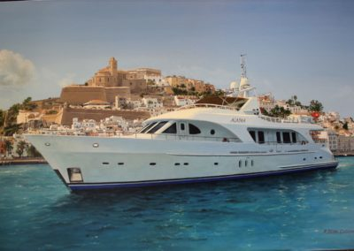 Yacht à Ibiza
