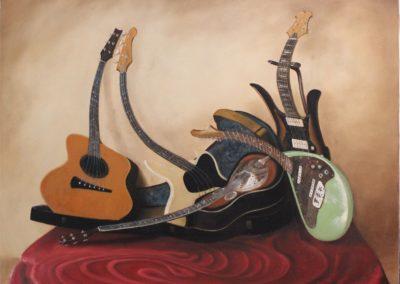 Guitares anamorphosées