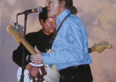 Guitaristes aux nues