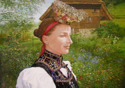 """Jeune fille de la """"Forêt noire"""""""