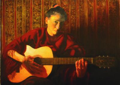 La Guitariste Espagnole
