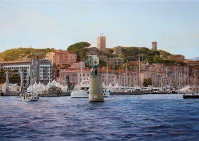 Cannes le vieux port