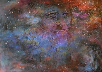 Leonardo in the sky